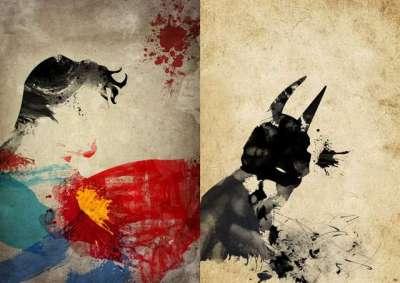 9 poster artistici di supereroi