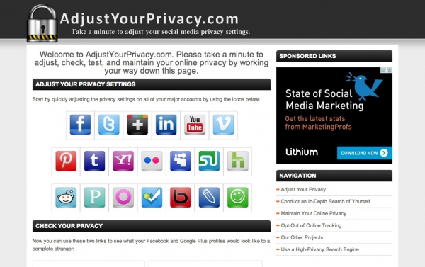 Adjustyourprivacy.com
