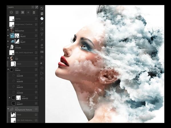 Affinity Photo per iPad