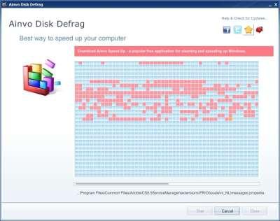 Ainvo Disk Defrag