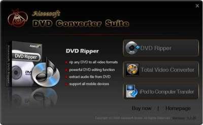 Aiseesoft DVD Converter Suite