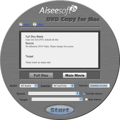 Aiseesoft DVD Copy for Mac