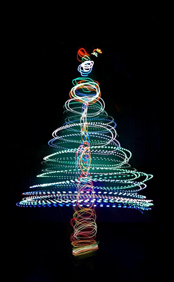 Albero di Natale luminoso