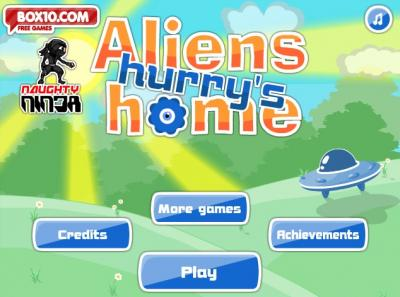 Aliens Hurry Home