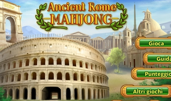 Ancient Rome Mahjong
