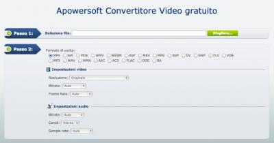 Apowersoft Convertitore Video Gratuito
