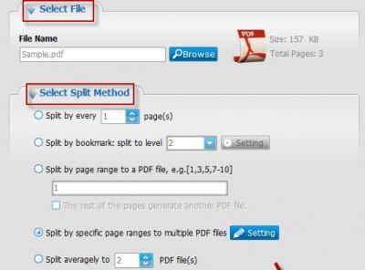 Apowersoft PDF Splitter