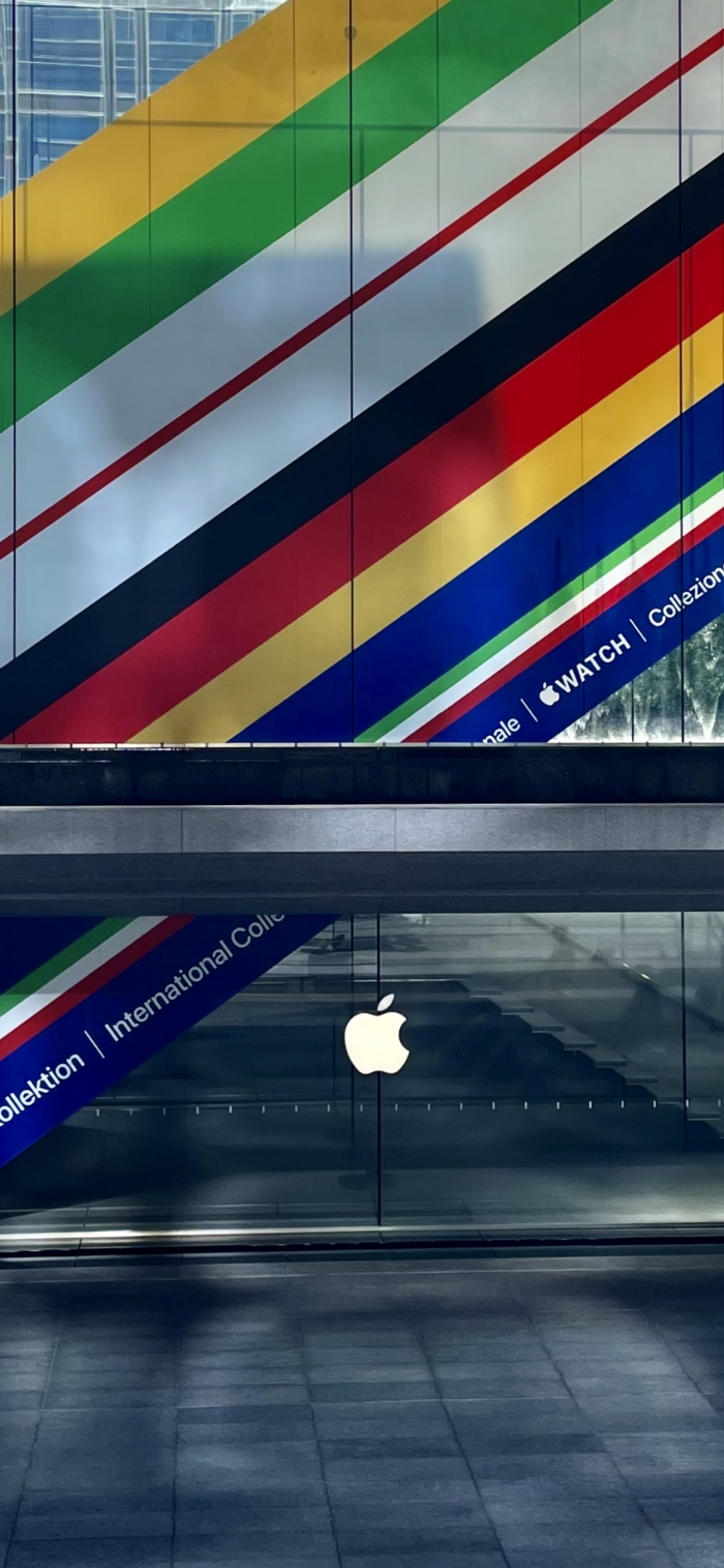 Apple Store Collezione Colorata
