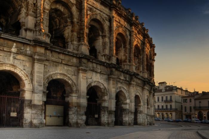 Arena di Verona al tramonto