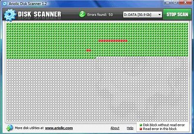 Ariolic Disk Scanner