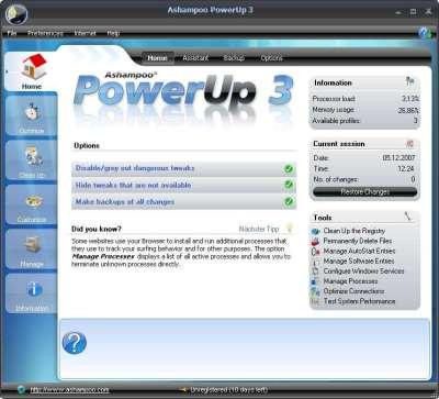 Ashampoo PowerUp