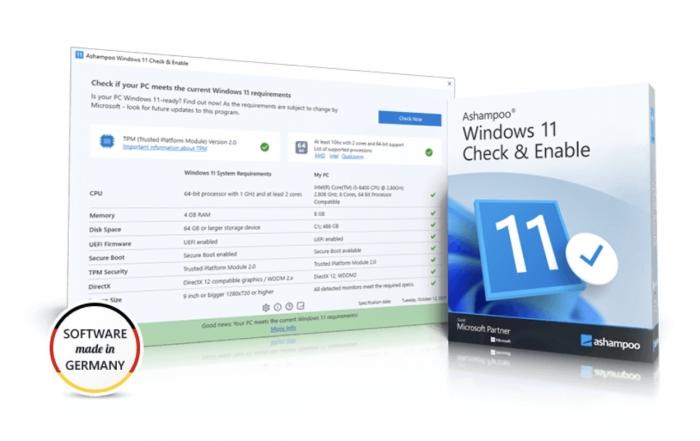 Ashampoo Windows 11 Check