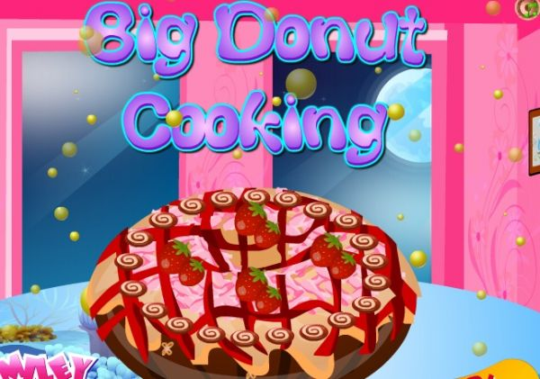 Big Donut Cooking