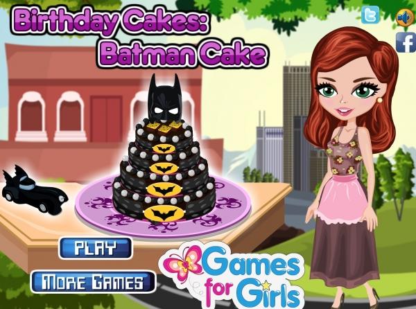 Birthday Cakes: Batman Cake