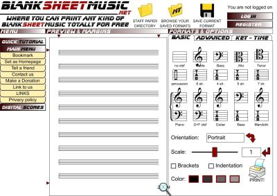 BlankSheetMusic.net