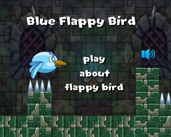 Blue Flappy Bird