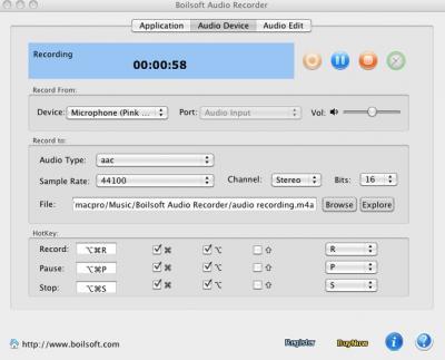 Boilsoft Audio Recorder