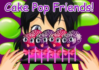 Cake Pop Friends