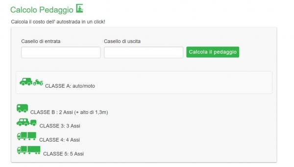 Calcolopedaggio.it