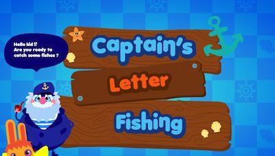 Capitan Letter Fishing