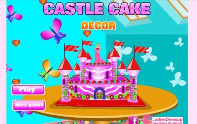 Castle Cake Decor