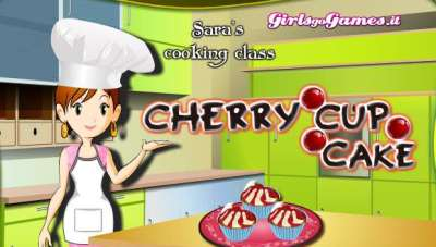 Cherries Cup Cake