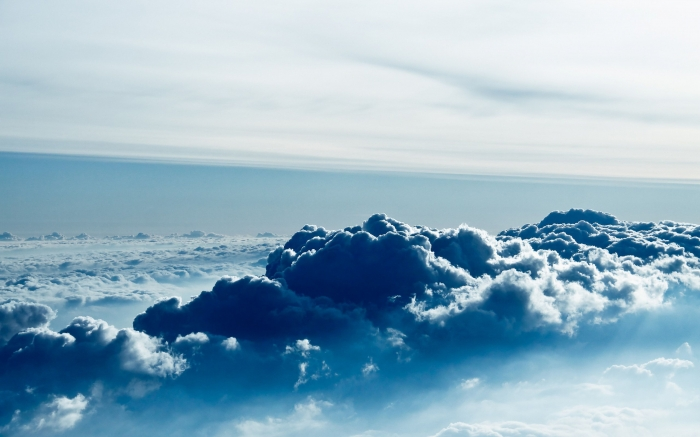 Cielo con nuvole in 4k