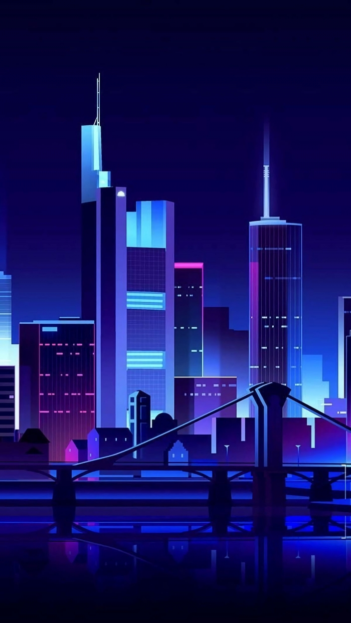 Cityscape by Night per Smartphone