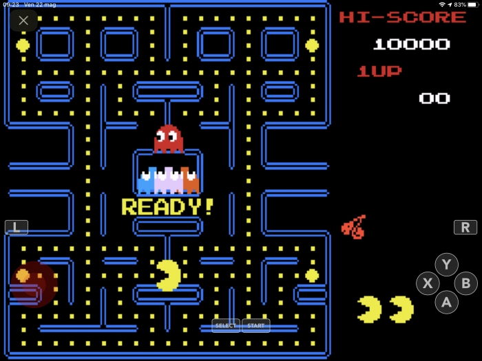 Classic Nes Pacman