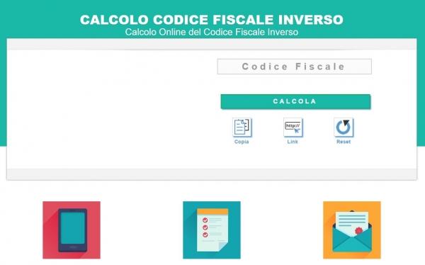 Codice Fiscale Inverso