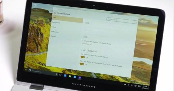 Come abilitare il vecchio Start Menu con le tiles grandi in Windows 10 desktop mode