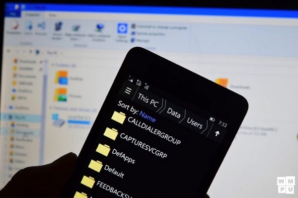 Come navigare nel file system di Windows 10 Mobile