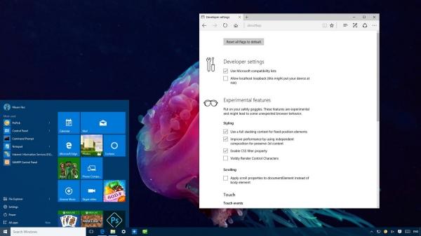 Come visualizzare la schermata about flags in Microsoft Edge