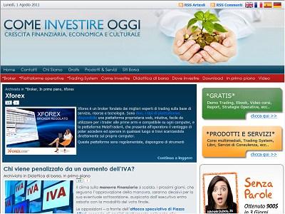Comeinvestireoggi.com