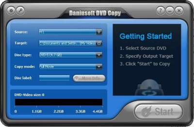 Daniusoft DVD Copy