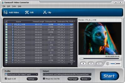 Daniusoft Video Converter