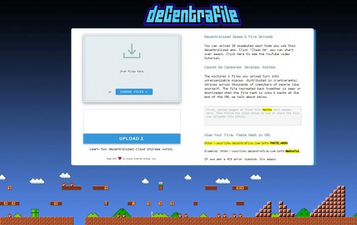 deCentraFile