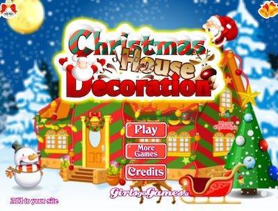 Decorazione per la casa di Natale