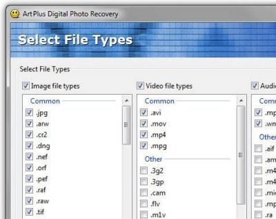 Digital Photo Recovery