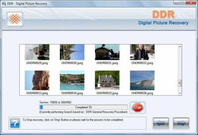 Digital Pictures Recovery