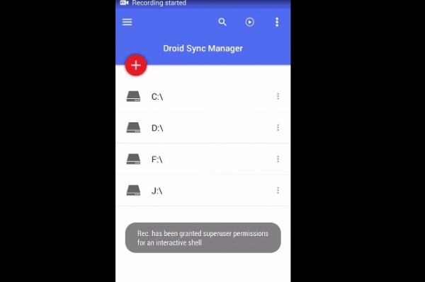 Droid Sync Manager