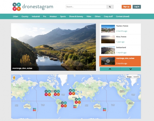 Dronestagram