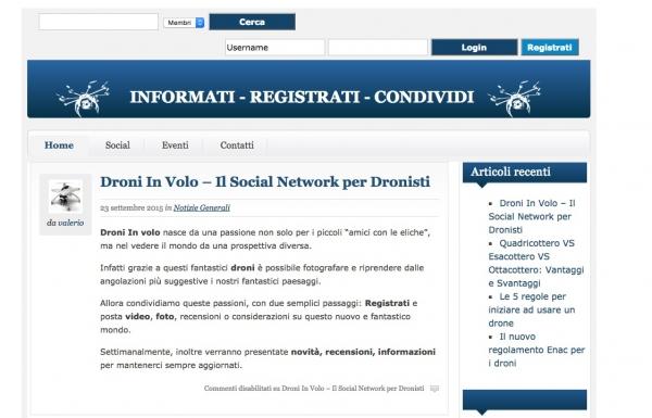 Droniinvolo.it