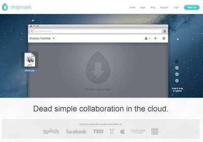 Dropmark.com - Spazio web per condividere e visualizzare documenti, video, immagini