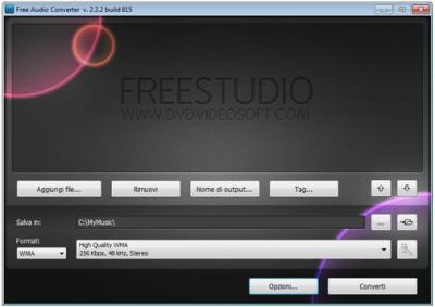 DVDVideoSoft Free Audio Converter