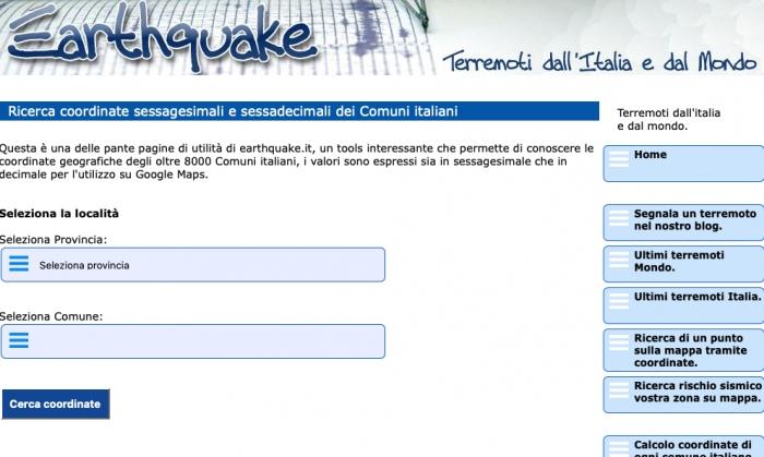 Earthquake.it