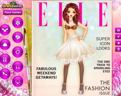 Fashion Magazine Cover DressUp