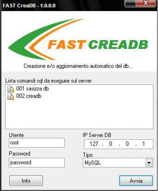 Fast CreaDB