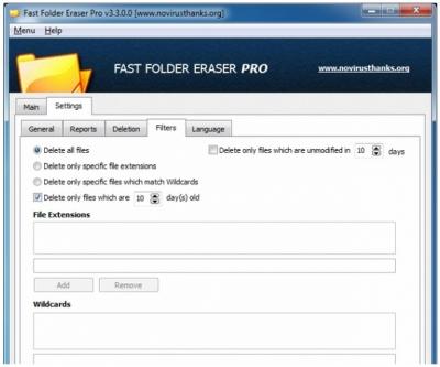 Fast Folder Eraser Pro