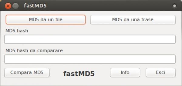 Fast MD5